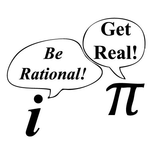 Image result for pi says to i get real
