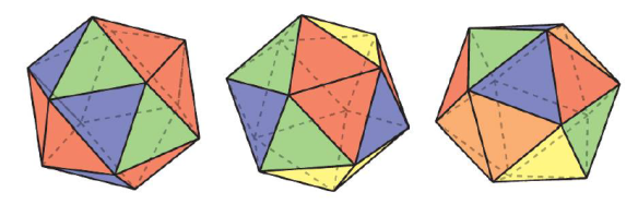 icosahedron colorings